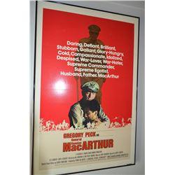 """""""MacArthur"""" Poster - Framed"""