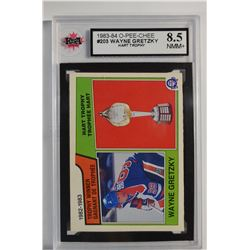 1983-84 O-Pee-Chee #203 Wayne Gretzky Hart