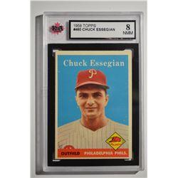 1958 Topps #460 Chuck Essegian RC