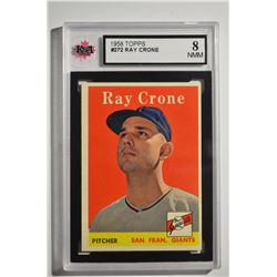 1958 Topps #272 Ray Crone