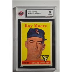 1958 Topps #249 Ray Moore