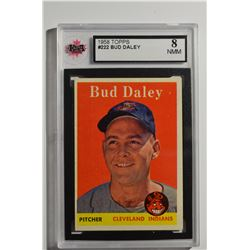 1958 Topps #222 Bud Daley RC