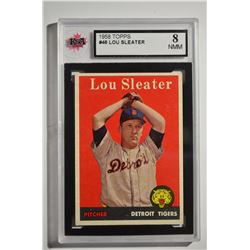 1958 Topps #46A Lou Sleater