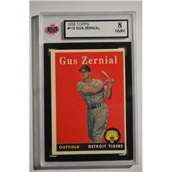 1958 Topps #112 Gus Zernial