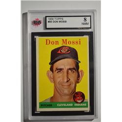 1958 Topps #35A Don Mossi