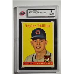 1958 Topps #159 Taylor Phillips