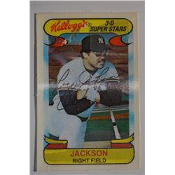 1978 Kellogg's #40 Reggie Jackson