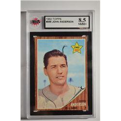 1962 Topps #266 John Anderson RC