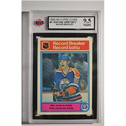 1982-83 O-Pee-Chee #1 Wayne Gretzky HL