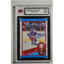 1989-90 O-Pee-Chee #321 Brian Leetch Calder