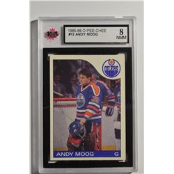 1985-86 O-Pee-Chee #12 Andy Moog