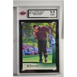 2001 Upper Deck #1 Tiger Woods RC