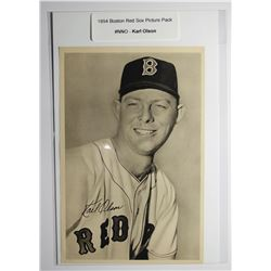 1954 Boston Red Socks Picture Pack - Karl Olson