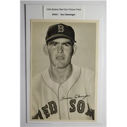 1954 Boston Red Socks Picture Pack - Tex Clevenger