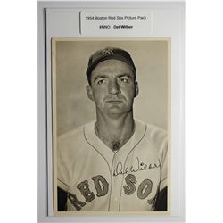 1954 Boston Red Socks Picture Pack - Del Wilber