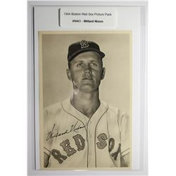 1954 Boston Red Socks Picture Pack - Willard Nixon