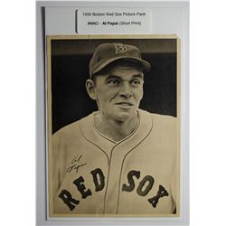 1950 Boston Red Sox Picture Pack - Al Papai (SP)