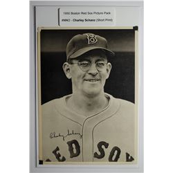 1950 Boston Red Sox Picture Pack - Charley Schanz (SP)