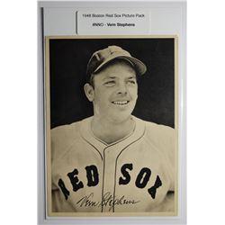 1948 Boston Red Socks Picture Pack - Vern Stephens