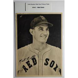 1948 Boston Red Socks Picture Pack - Matt Batts