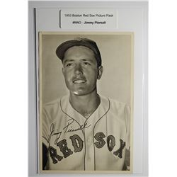 1953 Boston Red Socks Picture Pack - Jimmy Piersall