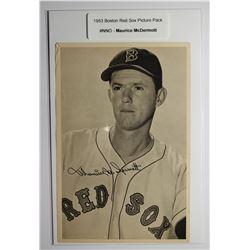1953 Boston Red Socks Picture Pack - Maurice McDermott
