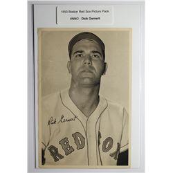 1953 Boston Red Socks Picture Pack - Dick Gernert