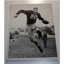 Circa 1950-60's Original Sports Press Photographs