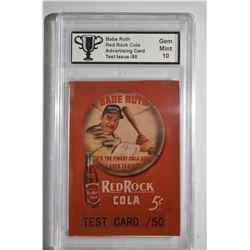 Babe Ruth Test Card