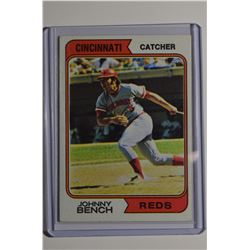 1974 Topps #10 Johnny Bench