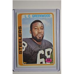 1978 Topps #145 L.C. Greenwood