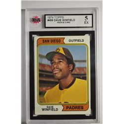 1974 Topps #456 Dave Winfield RC