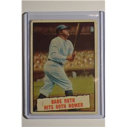 1961 Topps #401 Babe Ruth 60th HR