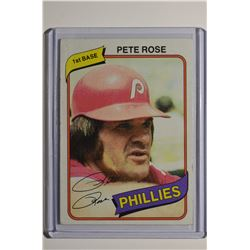 1980 Topps #540 Pete Rose