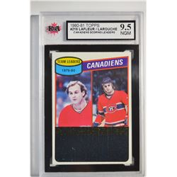 1980-81 Topps #216 Guy Lafleur TL