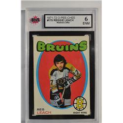 1971-72 O-Pee-Chee #175 Reggie Leach RC