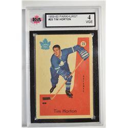 1959-60 Parkhurst #23 Tim Horton