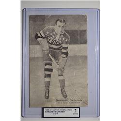 1936 Champion Postcards #4 Sweeney Schriner/22/2/36