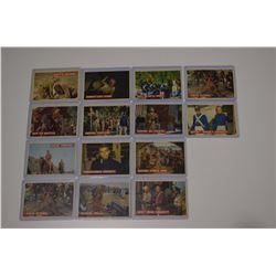 14 - 1956 Davy Crockett Orange Cards