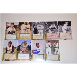 Lot of 4x6 Baseball Photos (Stars of the Game)