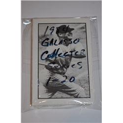 1984 Galasso Baseball Collector Series