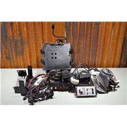 Emergency equipment (Siren, Ram Mount, Speakers and more)