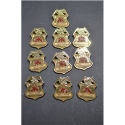 "Toy ""Fire Marshall"" Badges"