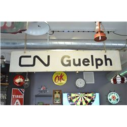 Original CN Sign from Guelph Ont.