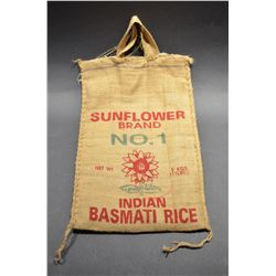Vintage Sunflower Sack