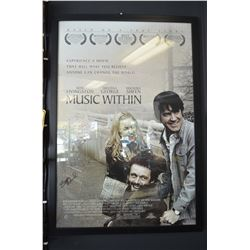 """Music Within"" Framed Poster - Cast Signed"