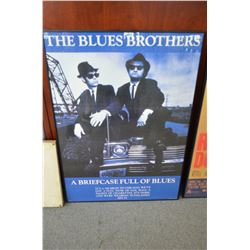 Blues Brothers Poster - Custom Framed