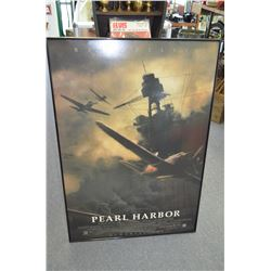 Framed Pearl Harbor Poster
