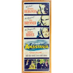Original 1956 Anastasia Movie Poster (Framed)