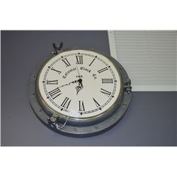 Cast Metal Port Hole Clock